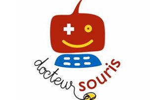 Logo docteur souris